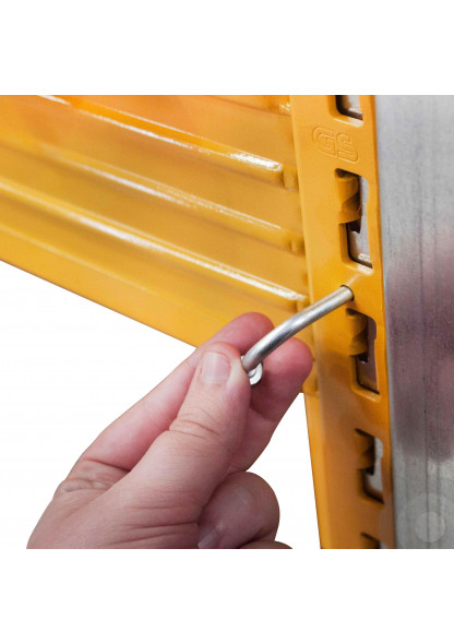 pallet racking safety pins