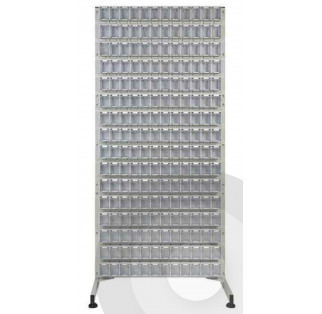 Single Sided Tilt Bin Louvre Racks